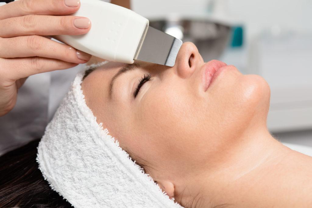 Ultraschall Peeling-Gesichtsreinigung Hautverjüngung zurich